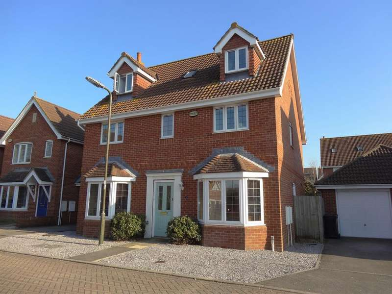 5 Bedrooms Detached House for sale in Nicolson Close, Tangmere PO20
