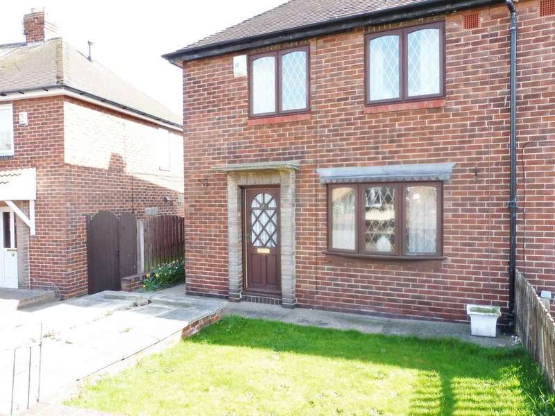 2 Bedrooms Semi Detached House for sale in Coleridge Road, Wath Upon Dearne, Rotherham, South Yorkshire S63