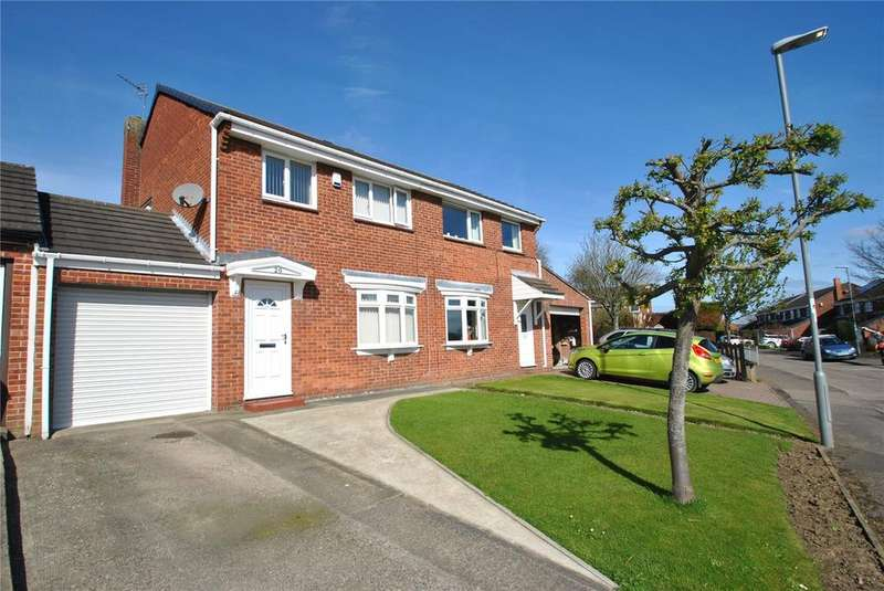 3 Bedrooms Semi Detached House for sale in Sharpley Drive, Seaham, Co.Durham, SR7