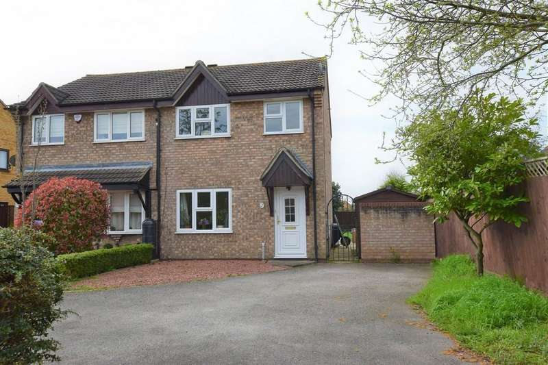 3 Bedrooms Semi Detached House for sale in Carsons Drive, Great Cornard, Sudbury