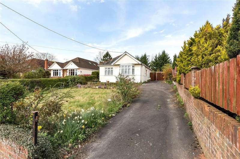 3 Bedrooms Detached Bungalow for sale in Stoney Lane, Winchester, Hampshire, SO22
