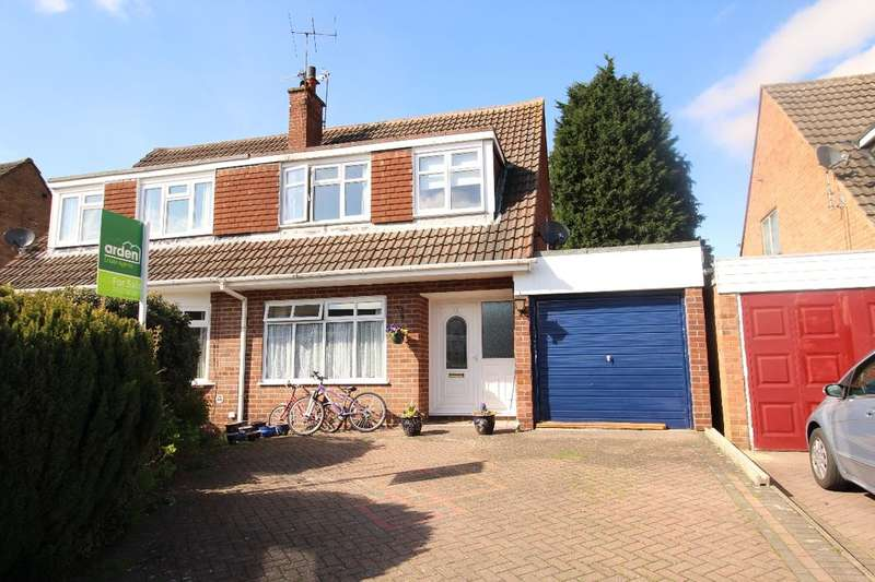 3 Bedrooms Semi Detached House for sale in Spadesbourne Road, Lickey End, Bromsgrove, B60