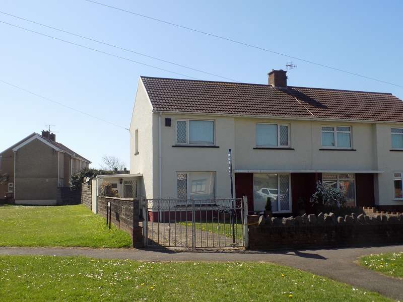 3 Bedrooms Semi Detached House for sale in Lake Road, Little Warren , Port Talbot, Neath Port Talbot. SA12 6AW