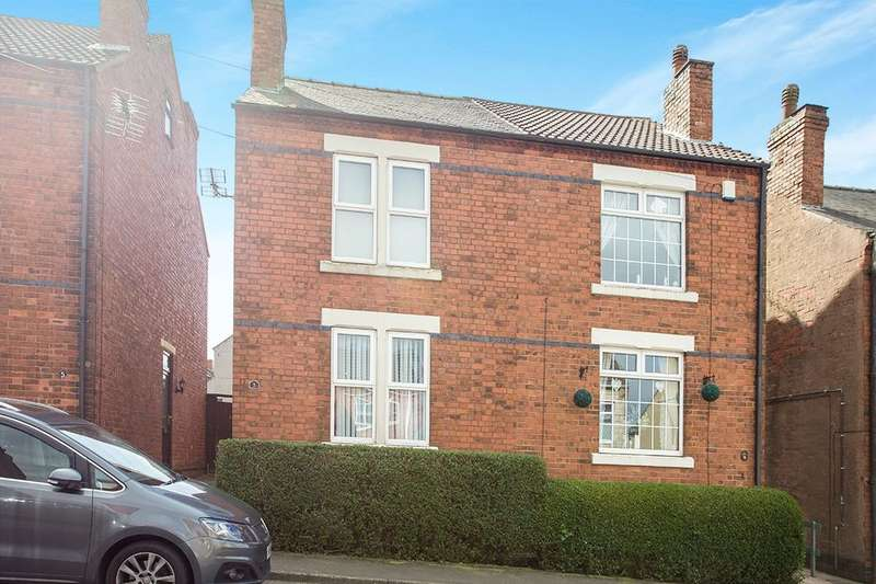 2 Bedrooms Semi Detached House for sale in Glebe Street, Kirkby-In-Ashfield, Nottingham, NG17