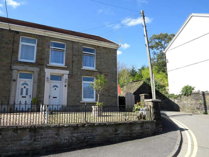3 Bedrooms Semi Detached House for sale in Alltygrug Road, Ystalyfera, Swansea