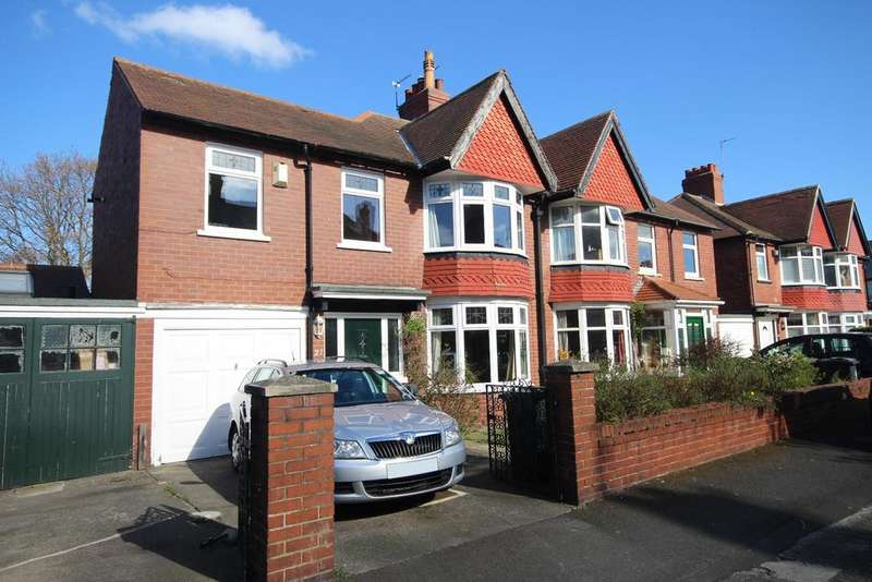 4 Bedrooms Semi Detached House for sale in Kensington Gardens, Monkseaton, Whitley Bay, NE25