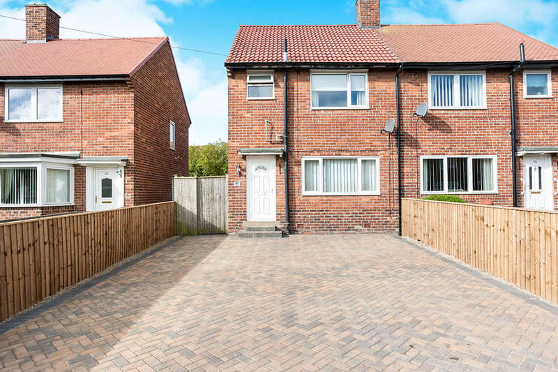 3 Bedrooms Semi Detached House for sale in Elmfield Gardens, Wallsend, NE28