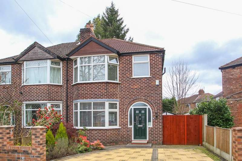3 Bedrooms Semi Detached House for sale in Chassen Road, Flixton, Manchester, M41