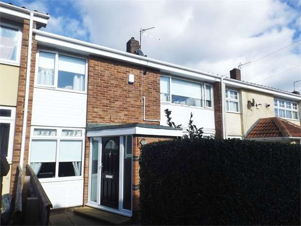 3 Bedrooms Terraced House for sale in Longfellow Walk, Hartlepool, Durham