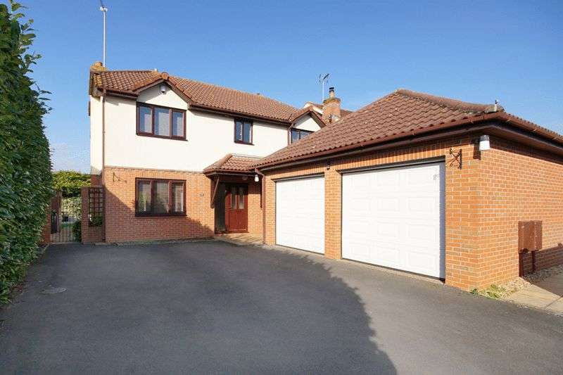 4 Bedrooms Detached House for sale in Sandstone Rise, Winterbourne, Bristol