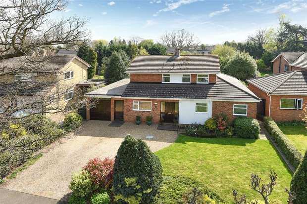5 Bedrooms Detached House for sale in Kelburne Close, WINNERSH, Berkshire