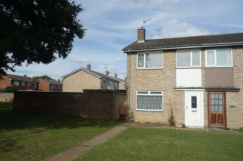 2 Bedrooms Semi Detached House for sale in Bradden Street, Peterborough, Cambridgeshire. PE3 7JR