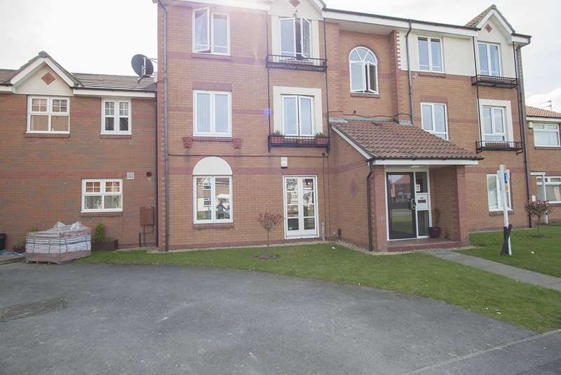 2 Bedrooms Apartment Flat for sale in Rothswaite Close, Hartlepool TS24