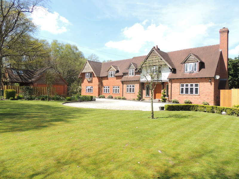5 Bedrooms Detached House for sale in Forshaw Heath Lane, Earlswood, Solihull