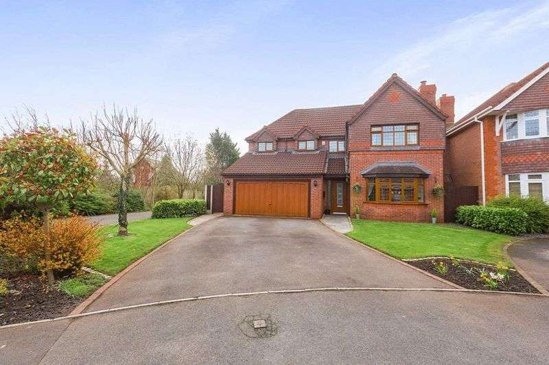 4 Bedrooms Detached House for sale in Fareham Close, Walton- Le-Dale, Preston