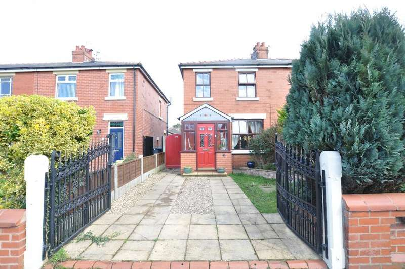3 Bedrooms Semi Detached House for sale in Bush Lane, Freckleton, Preston, Lancashire, PR4 1SB