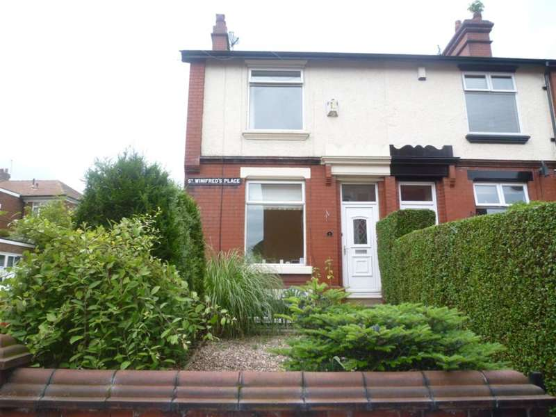 2 Bedrooms End Of Terrace House for sale in St. Winifreds Place, Stalybridge, Greater Manchester, SK15 1ND