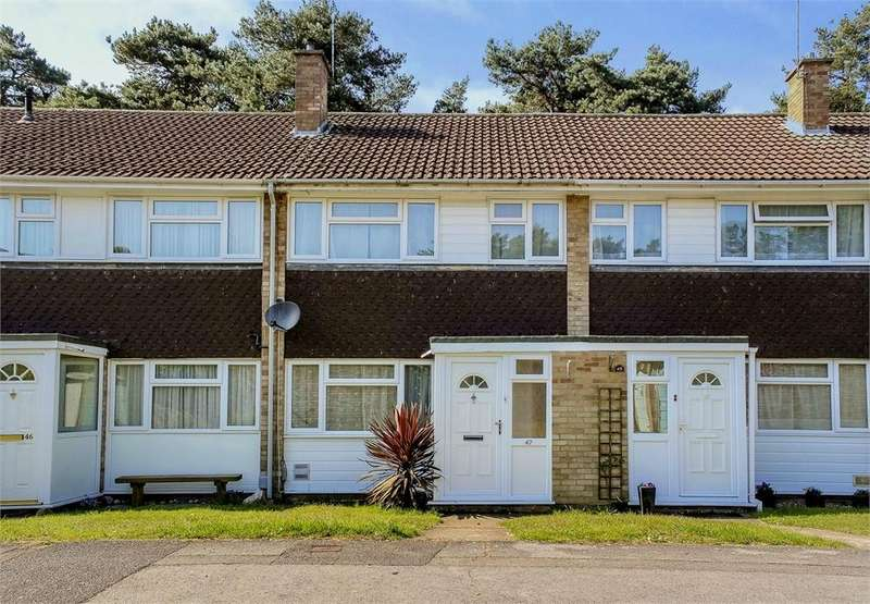 3 Bedrooms Terraced House for sale in Brunswick, Bracknell, Berkshire