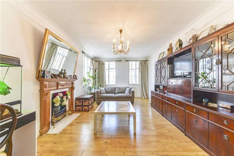 3 Bedrooms Flat for sale in Leonard Court, Edwardes Square, London, W8