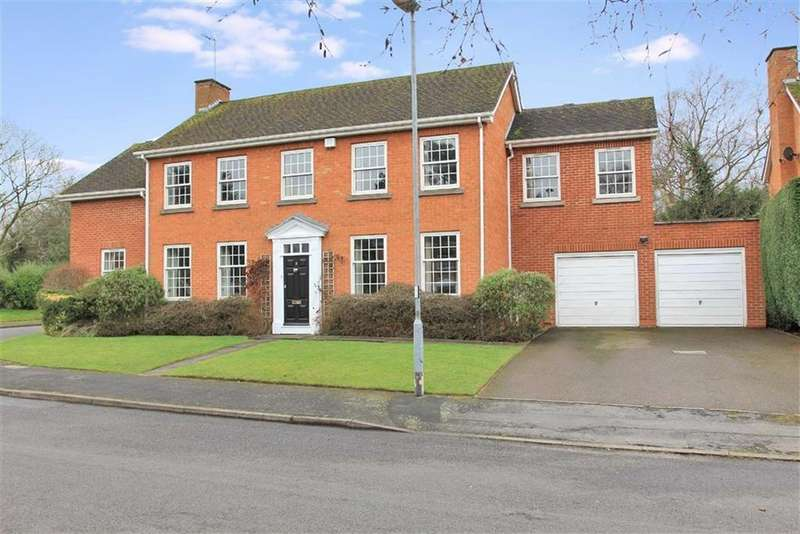 5 Bedrooms Detached House for sale in Cranborne Gardens, Oadby, Leicester