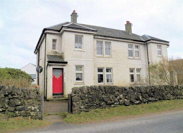 2 Bedrooms Flat for sale in 4 Ardview, Port Ellen, Isle of Islay, PA42 7BP