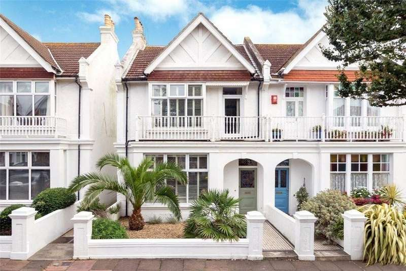 5 Bedrooms Semi Detached House for sale in Carlisle Road, Hove, BN3