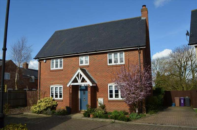 4 Bedrooms Detached House for sale in Forge End, WESTON, SG4