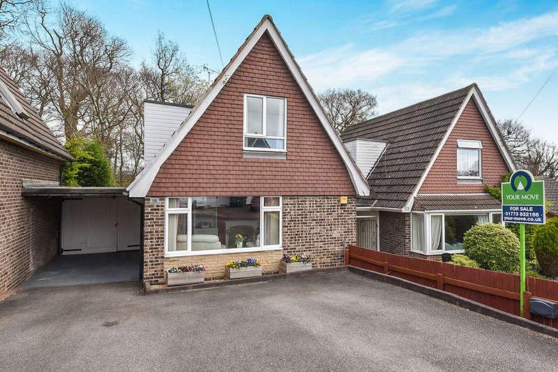 3 Bedrooms Detached House for sale in Chestnut Avenue, Riddings, Alfreton, DE55