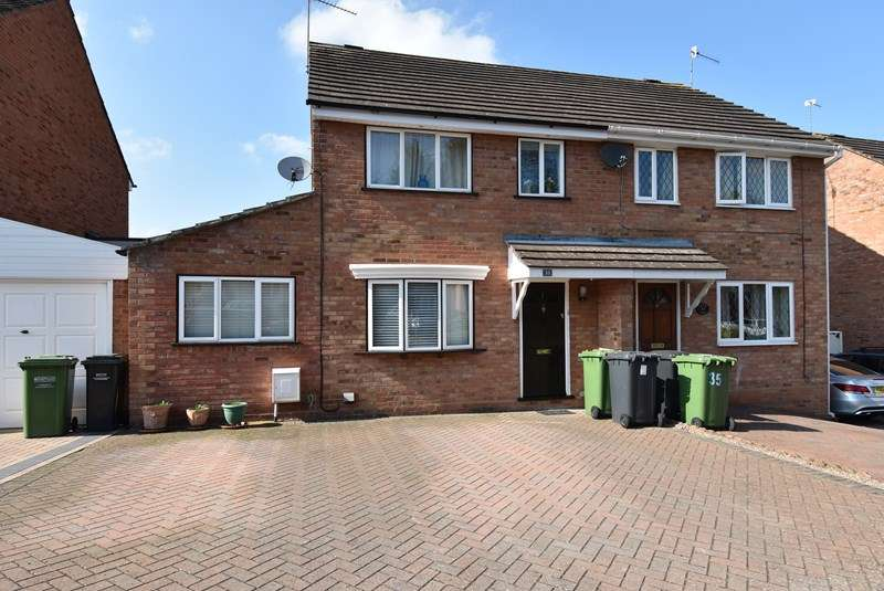 3 Bedrooms Semi Detached House for sale in Westbury Avenue, Droitwich