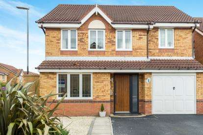 4 Bedrooms Detached House for sale in Kensington Close, Widnes, Cheshire, WA8