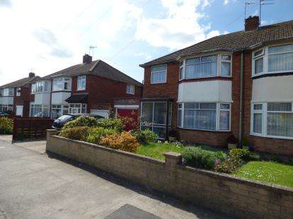3 Bedrooms Semi Detached House for sale in Coppice Road, Whitnash, Leamington Spa
