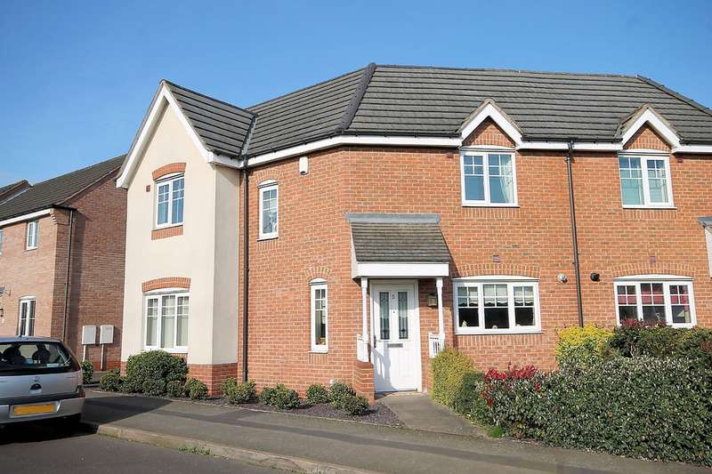 3 Bedrooms Semi Detached House for sale in Southwick Drive, Glascote, Tamworth, B77 2FP