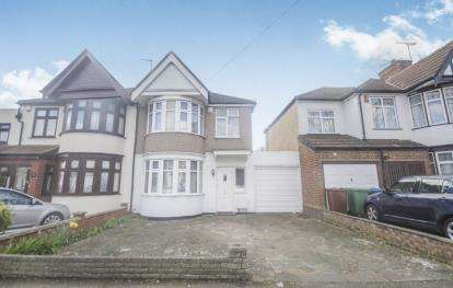 4 Bedrooms Semi Detached House for sale in Elmsleigh Avenue, Kenton, Harrow, Middlesex