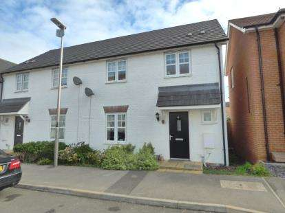 3 Bedrooms Semi Detached House for sale in Tiree Court, Newton Leys, Bletchley, Milton Keynes