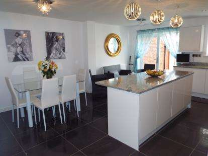 5 Bedrooms Link Detached House for sale in Arlington Way, Nuneaton, Warwickshire