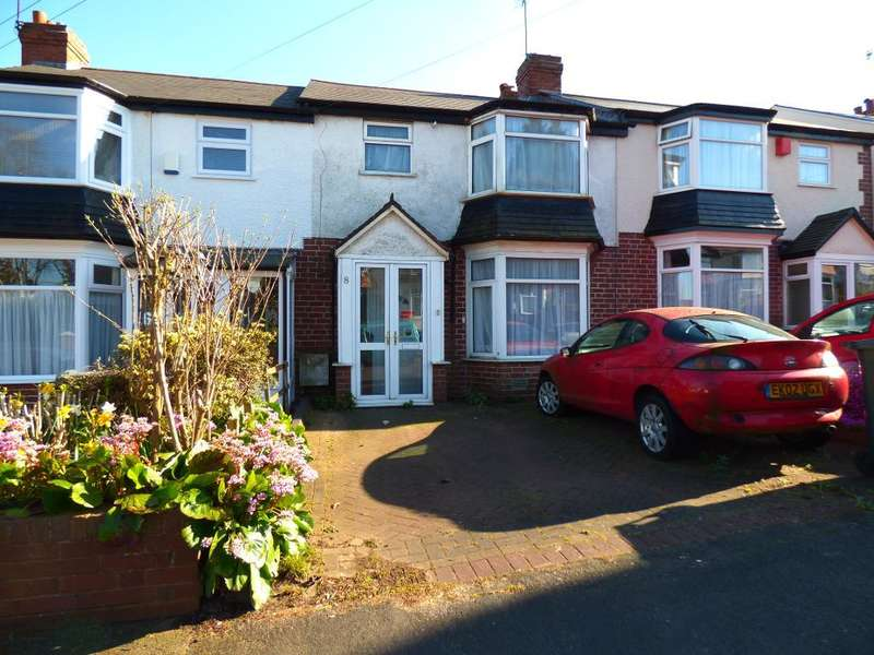 3 Bedrooms Terraced House for sale in Aubrey Road, Harborne, Birmingham, B32 2BB