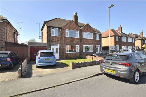 3 Bedrooms Semi Detached House for sale in Dinglewell, Hucclecote, GLOUCESTER, GL3 3HR