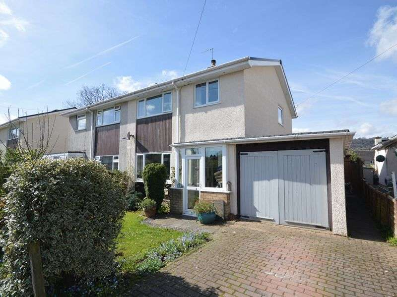 3 Bedrooms Semi Detached House for sale in Tyr Common, Gilwern, Abergavenny