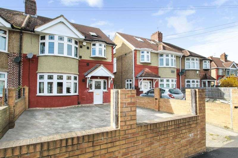 4 Bedrooms Semi Detached House for sale in Springwell Road, Hounslow