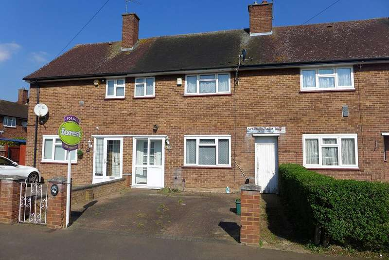 2 Bedrooms Terraced House for sale in Sparrow Farm Drive, Feltham