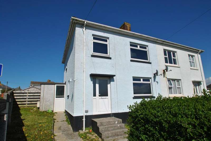 3 Bedrooms Semi Detached House for sale in Listry Road, Newquay