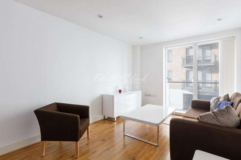 2 Bedrooms Flat for sale in Caspian Wharf, E3