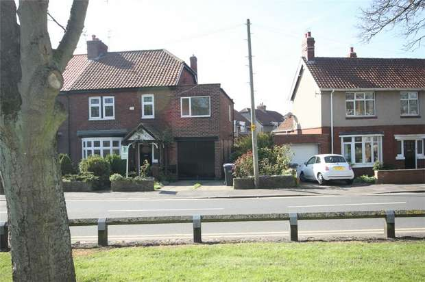 4 Bedrooms Semi Detached House for sale in Sunnybrow, North End, Durham City