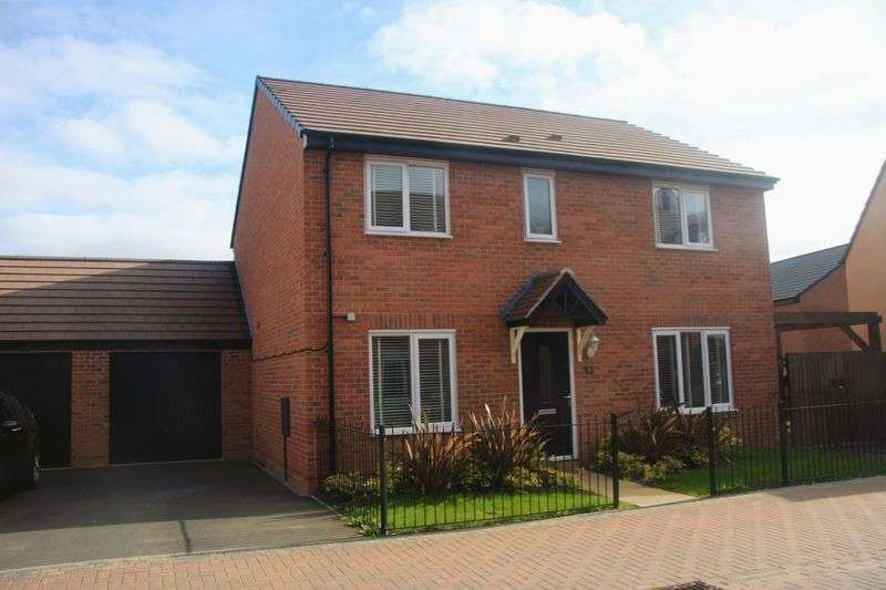 4 Bedrooms Detached House for sale in Bailey Grove, Telford