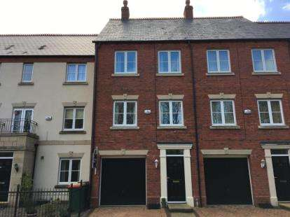 3 Bedrooms Terraced House for sale in Danvers Way, Fulwood, Preston, Lancashire, PR2