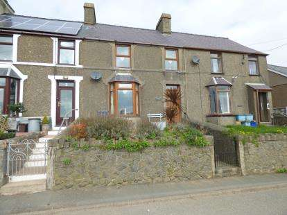 3 Bedrooms Terraced House for sale in Moriah Terrace, Llithfaen, Pwllheli, Gwynedd, LL53