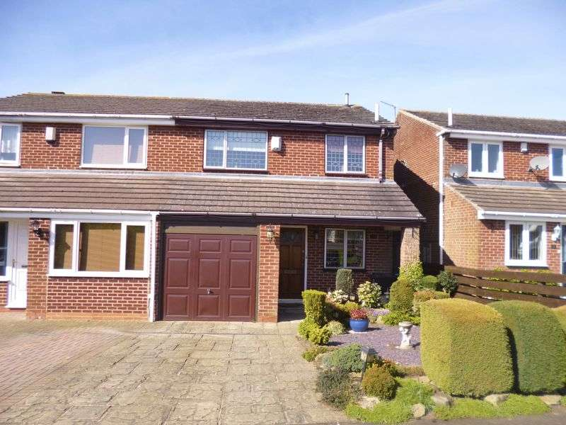 3 Bedrooms Semi Detached House for sale in Linburn Drive, Bishop Auckland