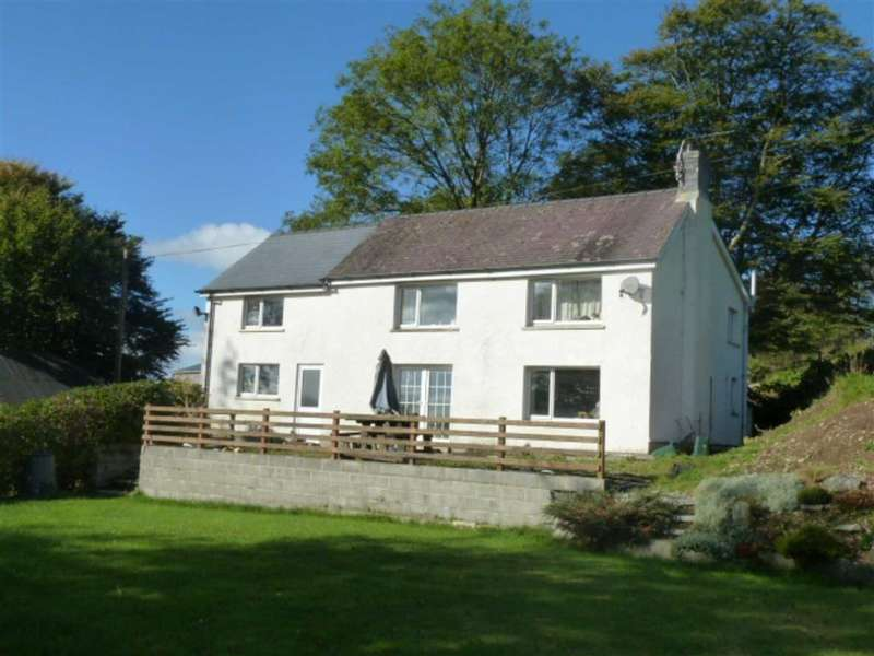 4 Bedrooms Detached House for sale in Frondeg, Bontnewydd, Aberystwyth, Ceredigion, SY23