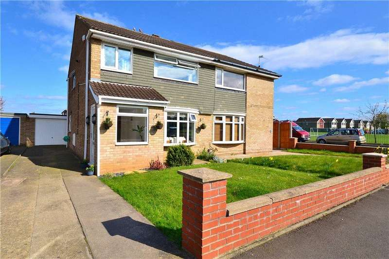 3 Bedrooms Semi Detached House for sale in Petrel Crescent, Norton, Stockton-On-Tees