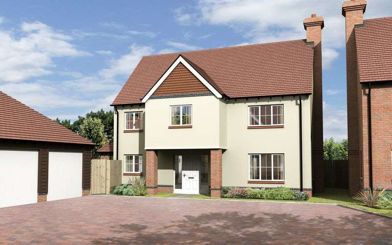 4 Bedrooms Detached House for sale in The Akeman, Plot 17, The Portway, East Hendred